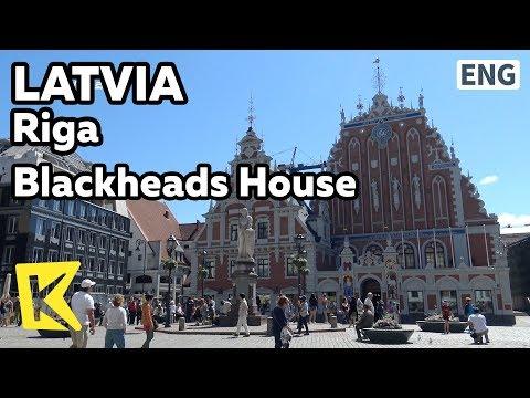 【K】Latvia Travel-Riga[라트비아 여행-리가]검은머리 전당/Blackheads House/Black face/Guild/Relic/Melngalvju nams