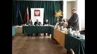 Jeziorany, sesja Rady Miejskiej, 30 października 2013   uchwały dt cmrntarza komunalnego