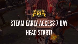 DAY ONE STEAM EARLY ACCESS HEAD START!| Legends of Aria (Ultima Online 2)