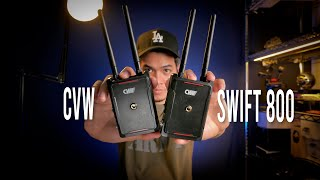 Wireless Video Transmission System To Check Out - CVW Swift 800