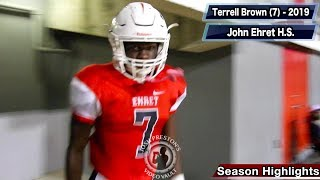 Terrell Brown Junior Highlights (Part 1) - Helen Cox 2019 RB (John Ehret transfer)
