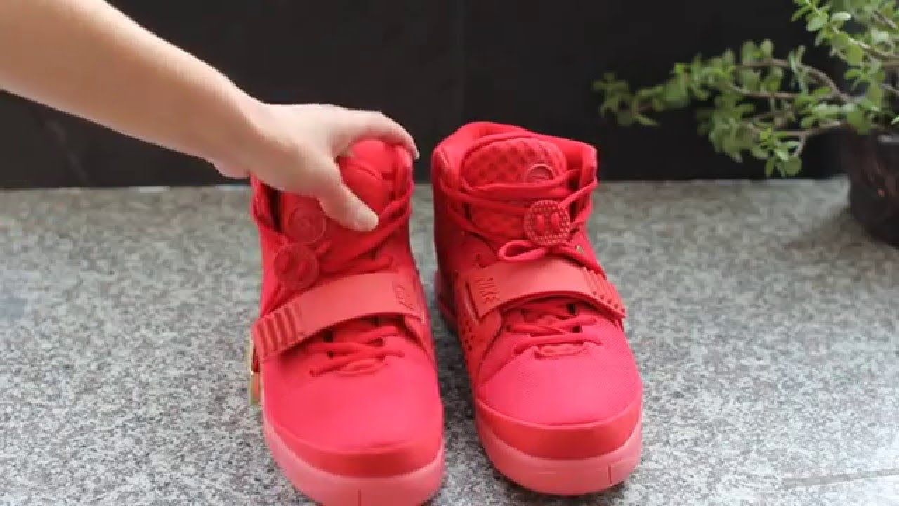 80fbfc6f055a1 ... Replica Air Yeezy 2 Red October On Feet HD Video Must Review ...