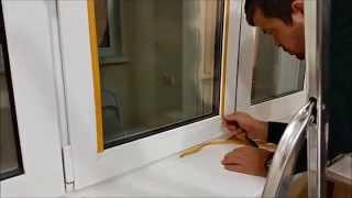 видео Способы утепления пластиковых окон