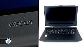 gaming notebook mit i7 6700k und gtx 980 mifcom xg9 unboxing eindruck fazit