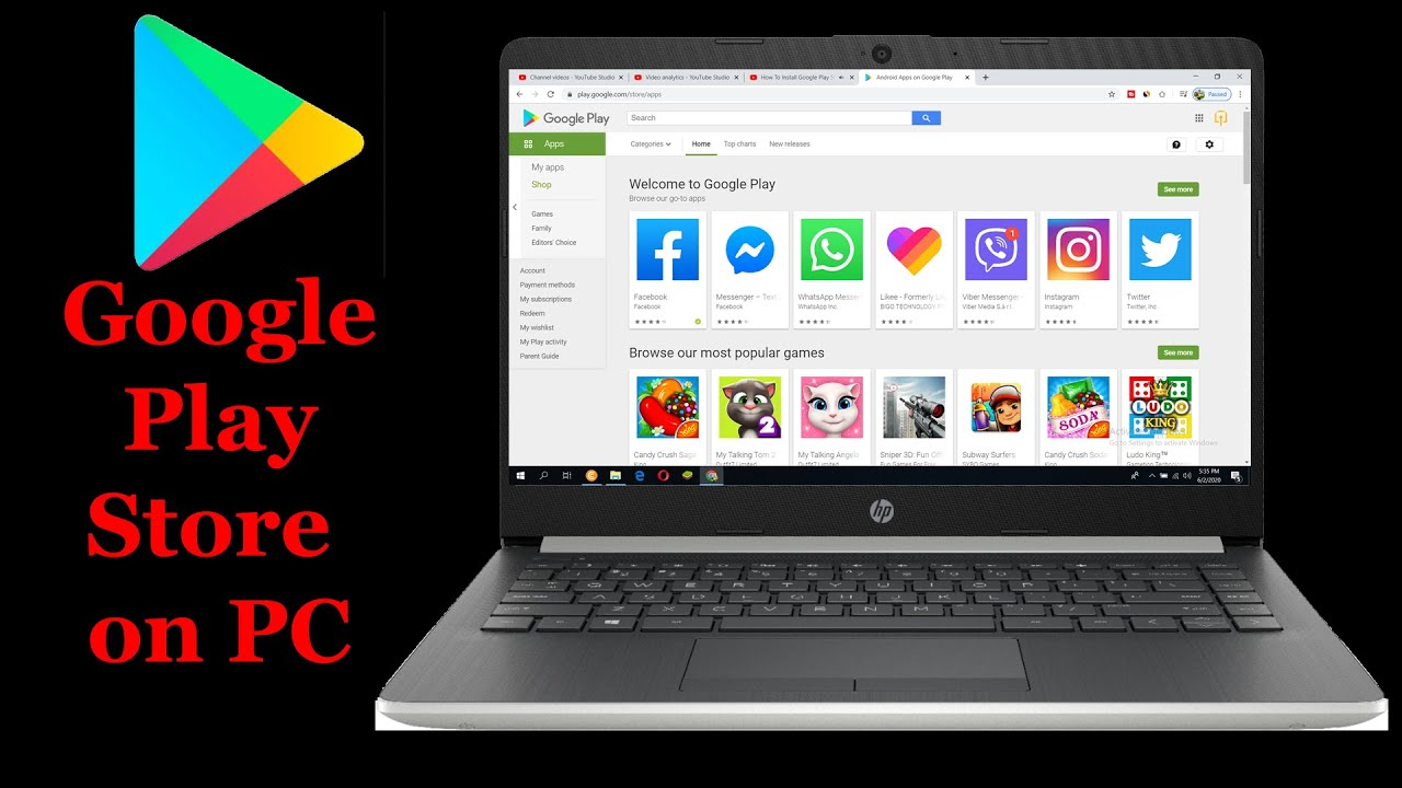Download Google Play Sign up - Google Play Store on PC, Laptop | Play Android Games on you Computer | Account