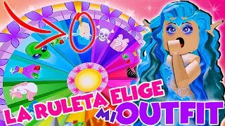 THE RULETA CHOOSE MY OUTFIT! - ROYALE HIGH - ROBLOX