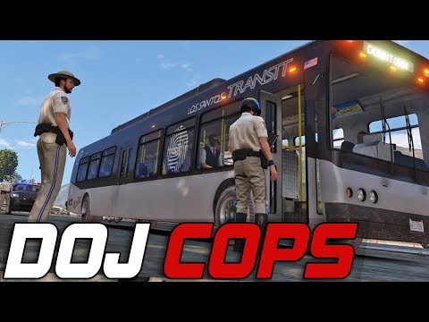 Dept. of Justice Cops #245 - Hell Bus Driver (Criminal)