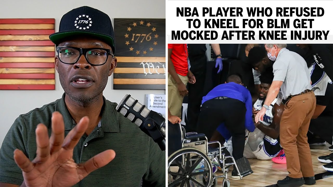 NBA Player Who Refused To Kneel MOCKED After Knee Injury!