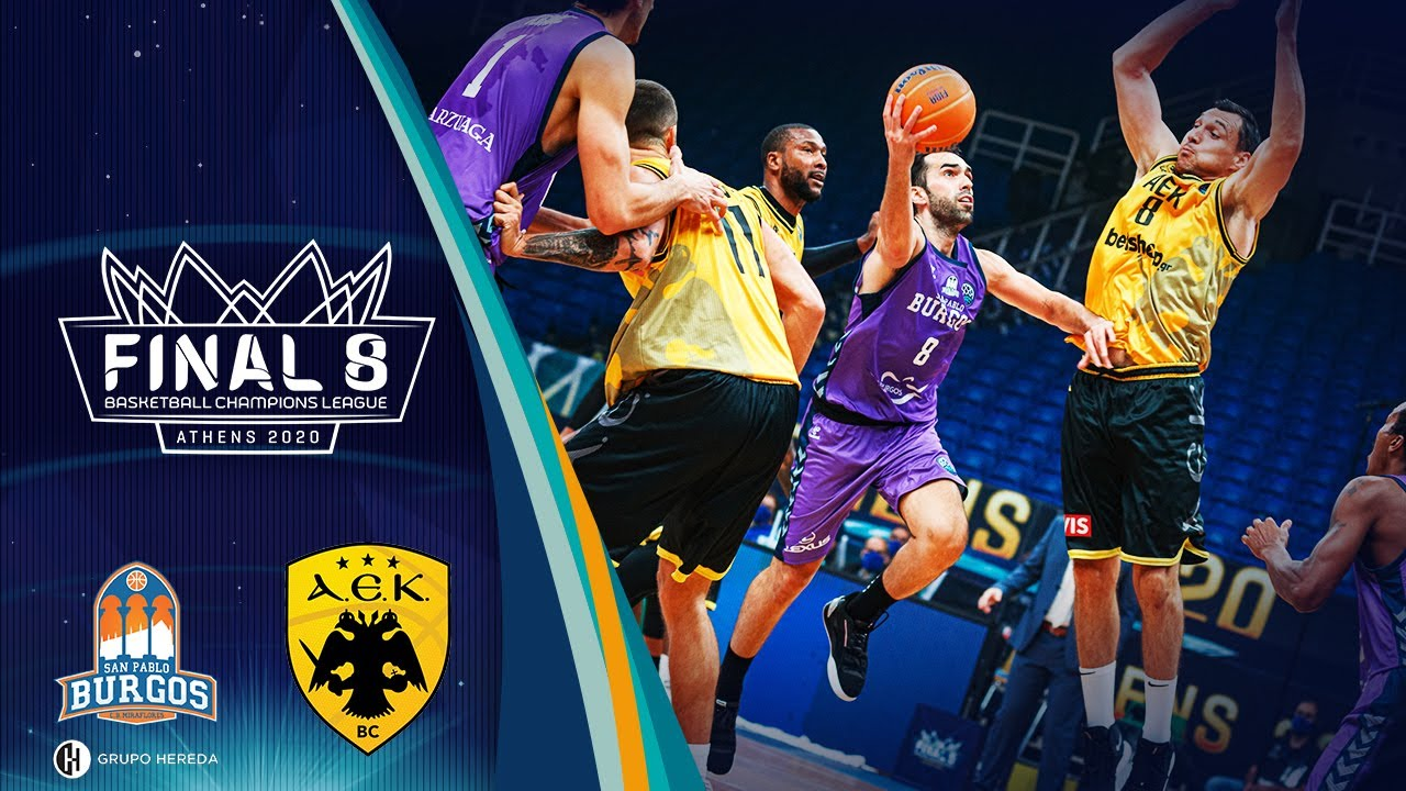Hereda San Pablo Burgos v AEK - Condensed Game - FINAL - Basketball Champions League 2019