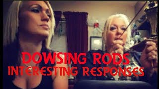 dowsing rods tested