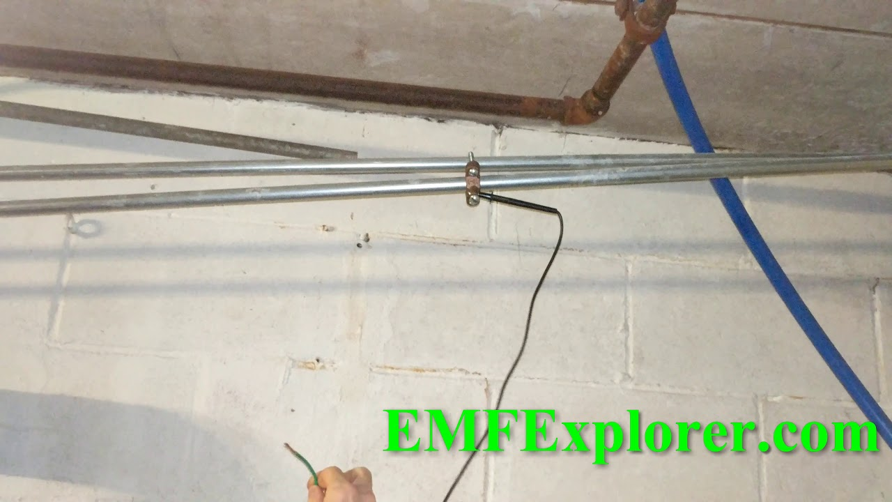 Sparking water pipe - bad neutral? High volts and current on ...