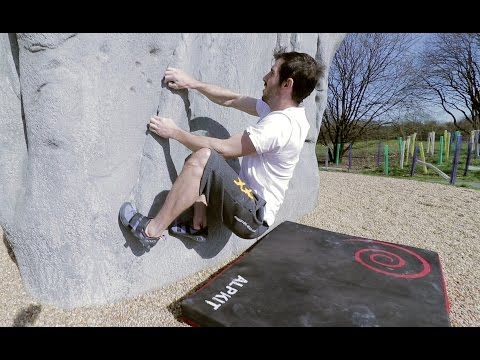 Cuningar Bouldering With Mark W
