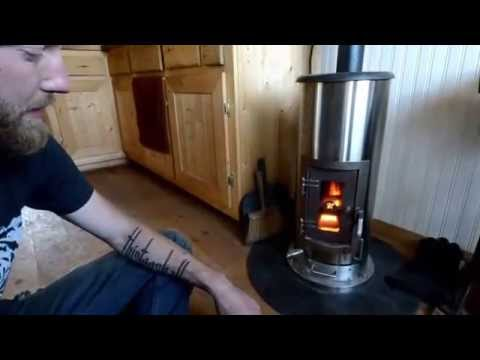 Kimberly wood stove - YouTube
