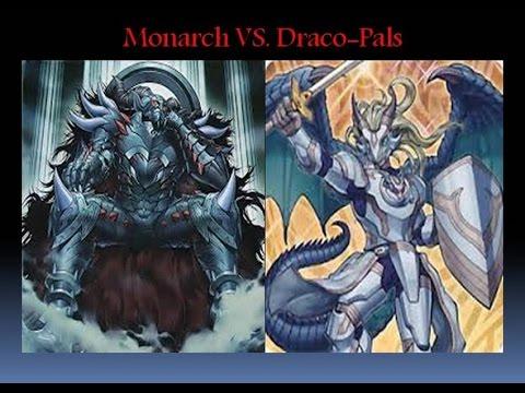 Yu-Gi-Oh Monarchs VS  Draco-Pals Full Match