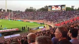 Los Pumas vs Wallabies: Himno Nacional Argentino #ARGvAUS #RugbyChampionship