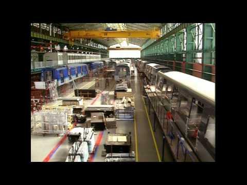 CAF (Construcciones y Auxiliar de Ferrocarriles) Tanıtım Videosu