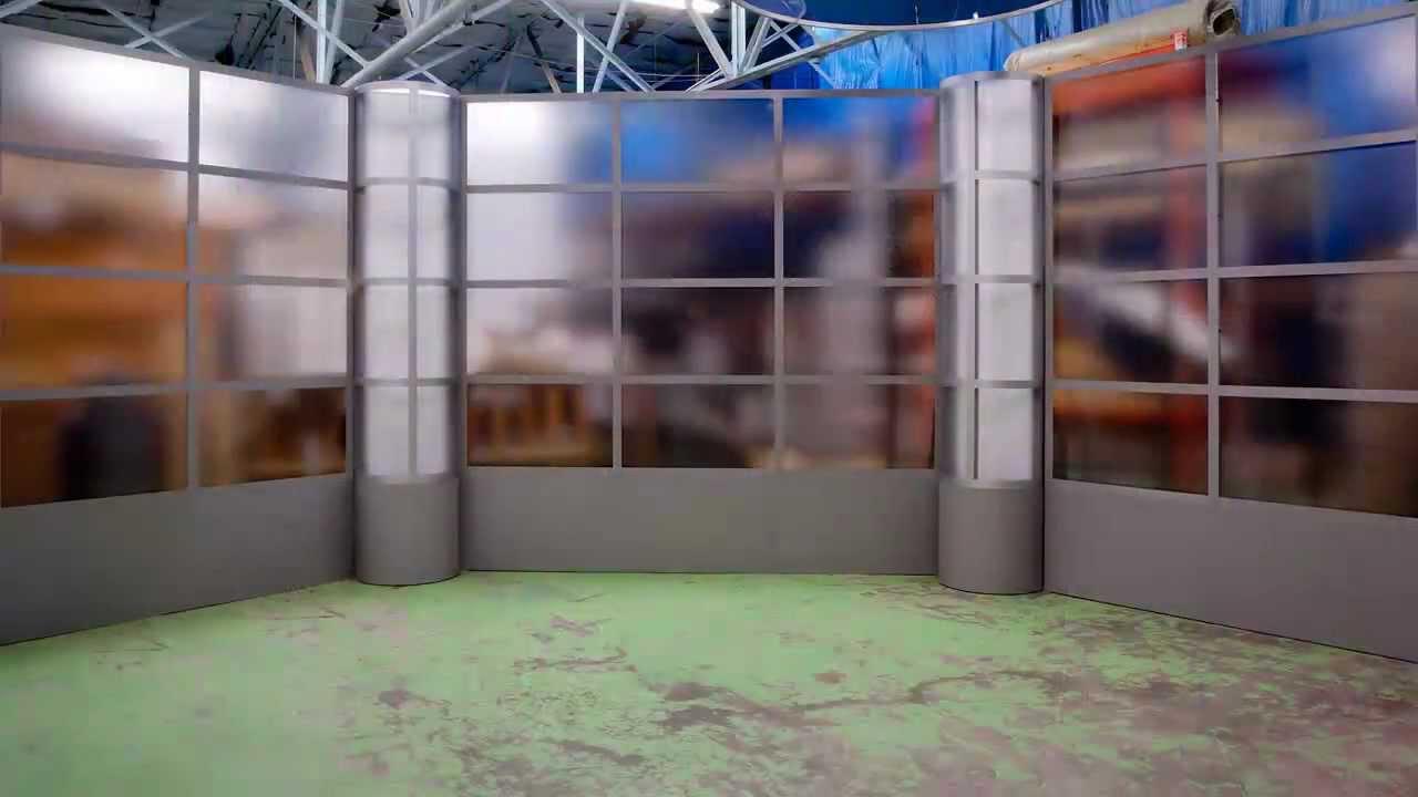 Gelbach Designs Broadcast Studio Tv Set Design Youtube