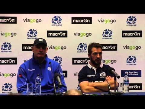 Scotland v Argentina - post-match press conference