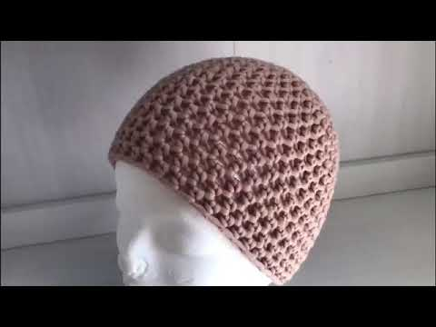 Einfache Mütze Häkeln Aus Halben Stäbchen Häkeln Lernen