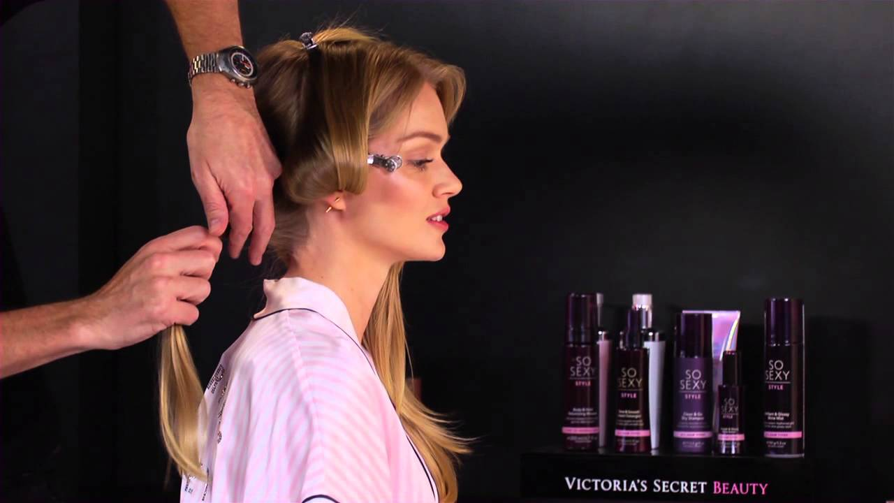 Get The Look Victorias Secret Fashion Show Runway Hair Youtube