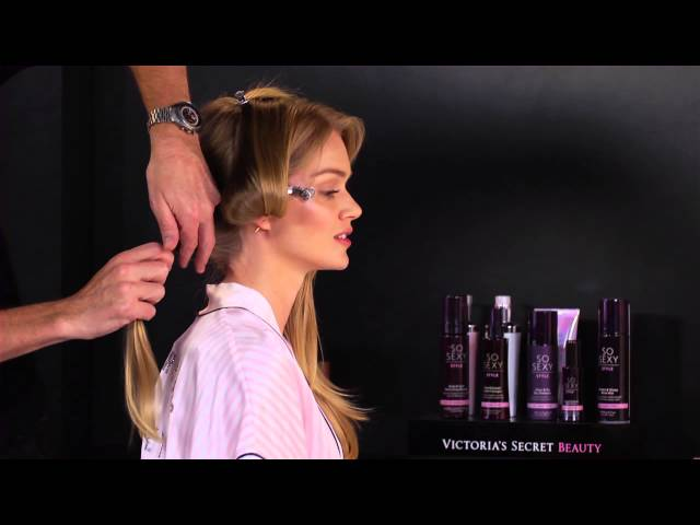 Get the Look:  Victorias Secret Fashion Show Runway Hair