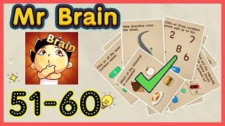 Mr Brain Level 51 52 53 54 55 56 57 58 59 60 Walkthrough Solution
