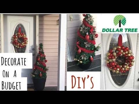 2 Dollartree DIYs—Decorate Your Front Porch On A Budget