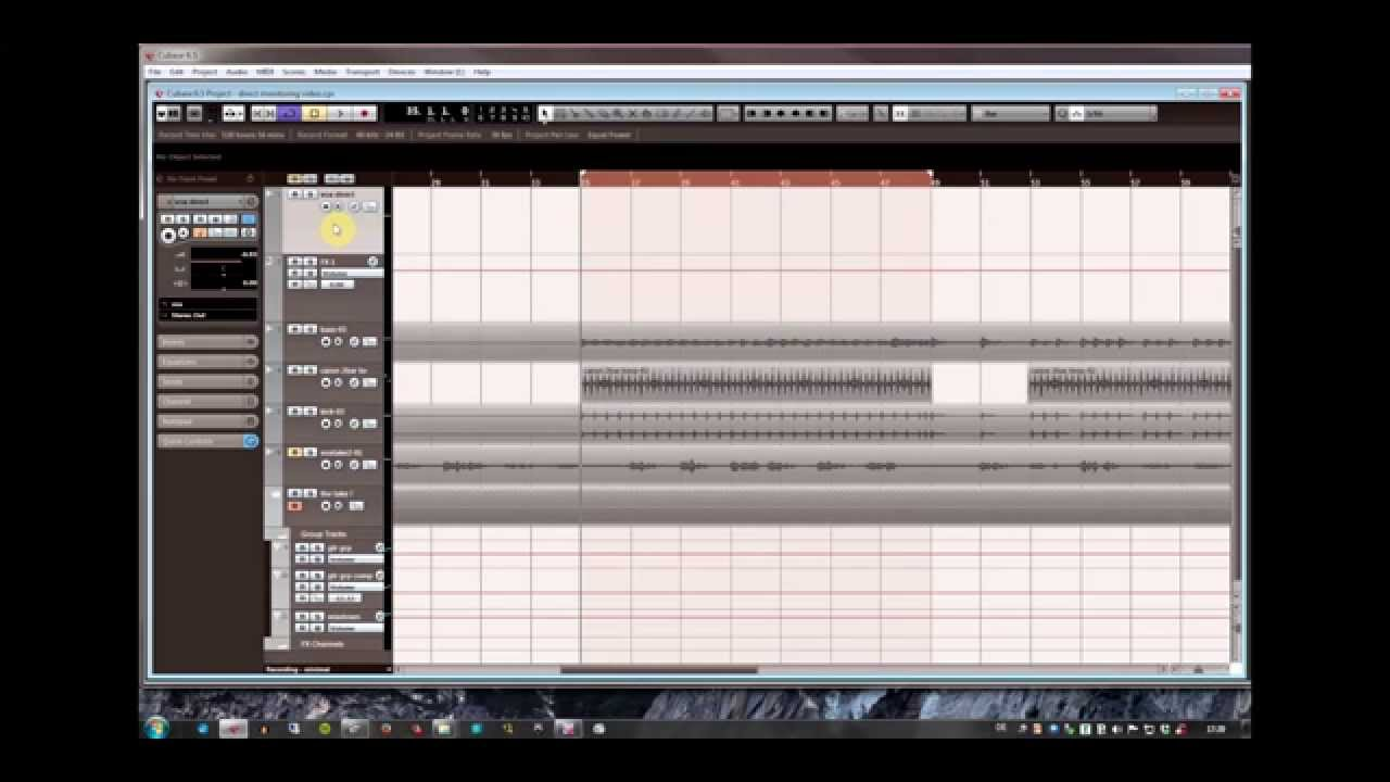 direct monitoring with reverb using any daw and audio interface youtube. Black Bedroom Furniture Sets. Home Design Ideas
