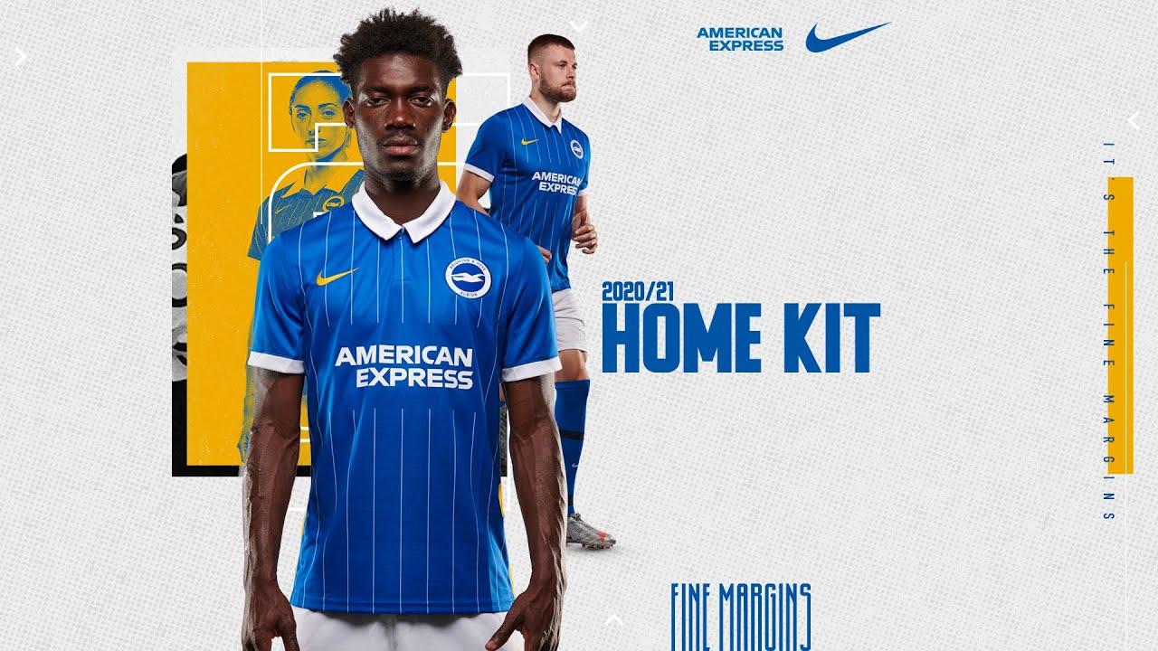 Fine Margins: Brighton & Hove Albion Home Kit 2020/21 - YouTube