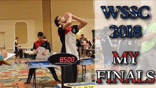 WSSC 2018 - My Finals [Sport Stacking Competition]