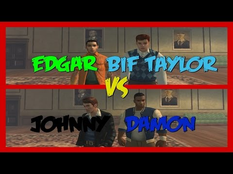 BULLY DUELO - Edgar & Bif Taylor (TOWNIES/PREPS) VS Johnny & Damon (GREASERS/JOCKS)
