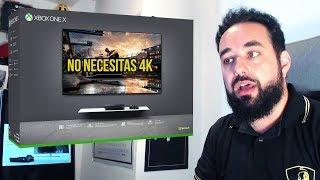Que No Te Confundan No Necesitas un Televisor 4K Para Jugar con Xbox One X
