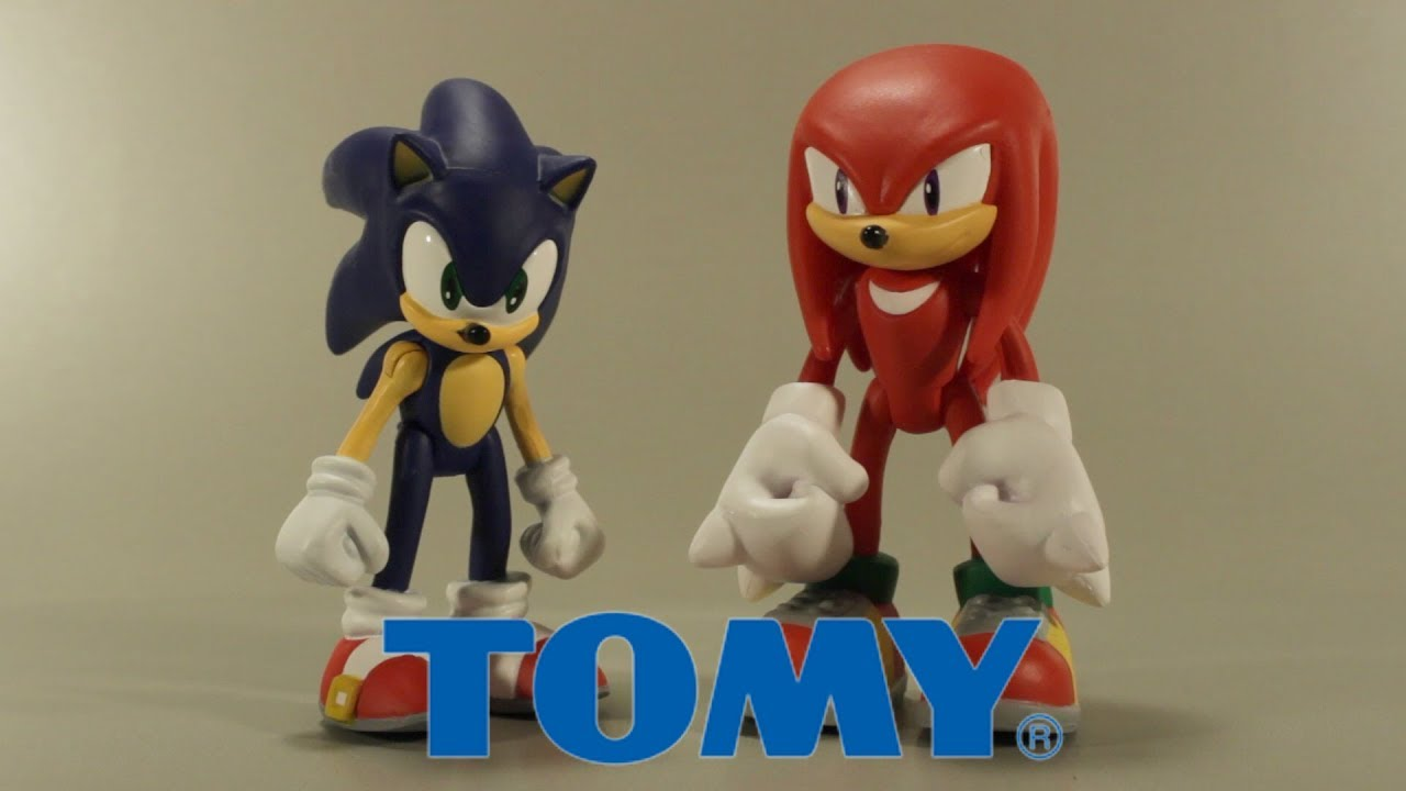 Tomy Modern Sonic And Knuckles 3 Inch Action Figure Review Youtube