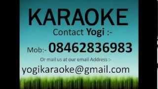 Aaj humne dil ka har kissa karaoke track