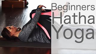 Hatha Yoga For Beginners At Home (30 Min Workout)