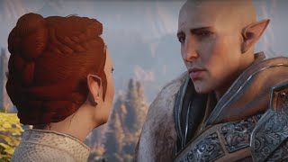 Trespasser DLC - Solas Romance, All Dialogue Options // Dragon Age: Inquisition