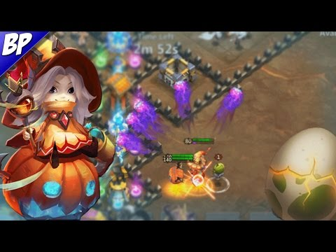 Castle Clash Trixie Treat Gameplay, All New Pets Gameplay