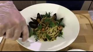 """#ГотовимсЕвропейским Рецепт изысканного блюда """"Паста с морепродуктами"""""""