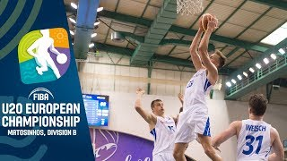 Czech Republic v Finland - Full Game - FIBA U20 European Championship Division B 2019