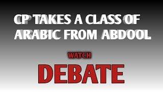 Christian Prince vs Abdool. Debate
