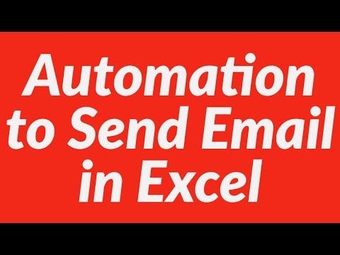 How to use automation to send ms outlook mail using Excel VBA