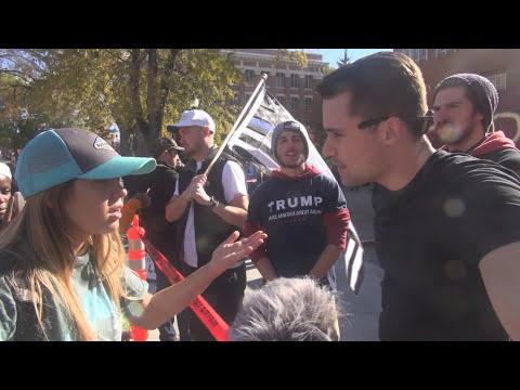 Trump Wall at Washington State University