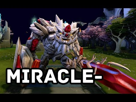 Dota 2 Miracle- Pro Tiny Full Gameplay