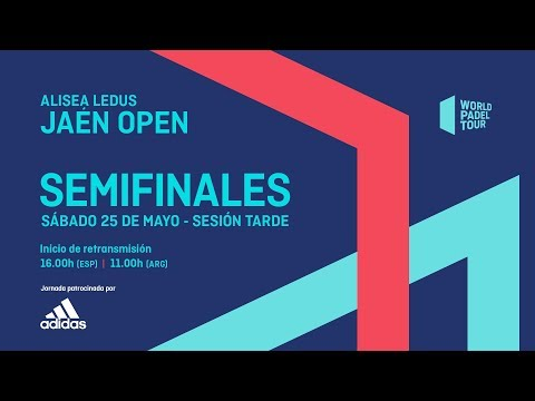 Semifinales - Tarde - Alisea Ledus Jaén Open 2019 - World Padel Tour
