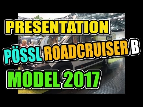 Travel - Camping - Living, Pössl Roadcruiser B, Caravan Salon Düsseldorf 2016 (2017 Model)