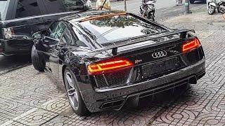 Nẹt pô chế độ Sport, vận chuyển Audi R8 V10 Plus | XSX