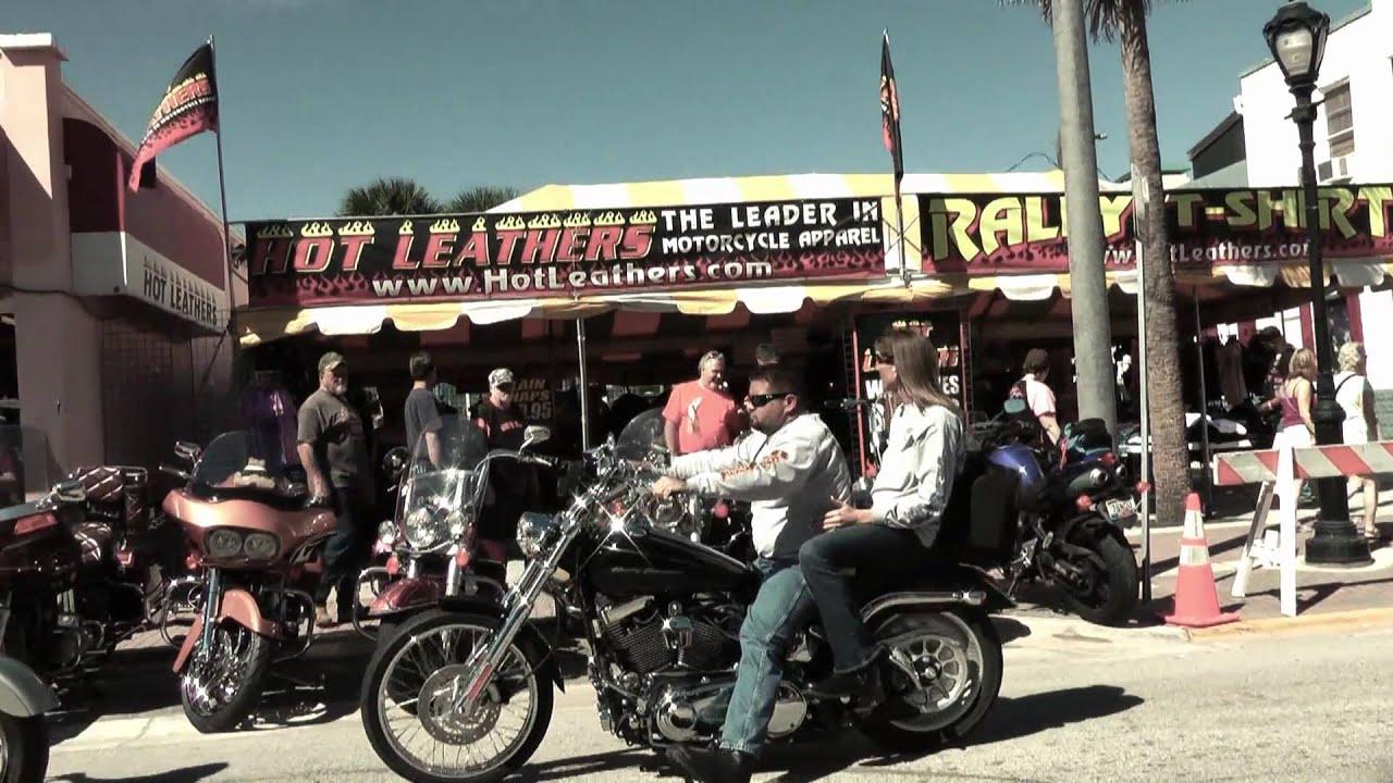Hot Leathers Daytona Beach Bike Week Youtube