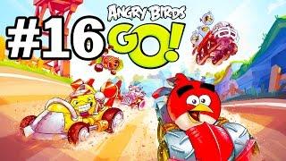 Angry Birds Go! Геймплей Прохождение Часть 16  Gameplay Walkthrough Part 16(Добро пожаловать на трассы скоростного спуска Свинского острова! Почувствуйте кайф гонки вместе с птицами..., 2015-01-22T15:11:11.000Z)