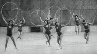 Pre-Rhythmic Gymnastics Highlights - USSR Routine | Helsinki 1952 Olympics