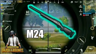 Killing Everyone with God Gun M24 | PUBG Mobile